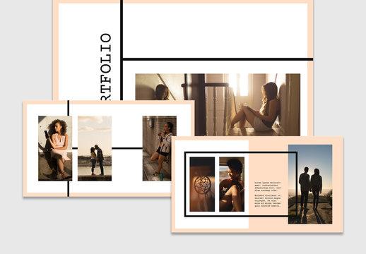 Web Portfolio Layout