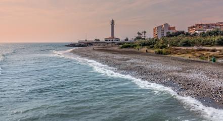 Strand für Hunde bei Torrox Costa