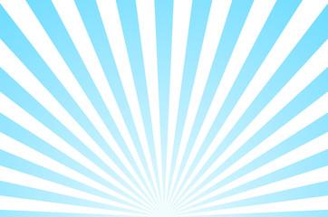 Fototapeta Sun ray retro background vector burst light. Sunrise or sunset retro design