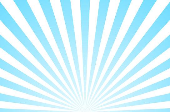 Sun ray retro background vector burst light. Sunrise or sunset retro design