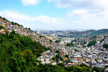 view on Rio Favela