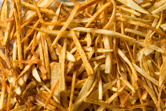 Homemade Shoestring French Fries