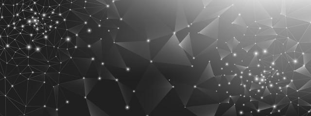 Abstract Data Flow. Dark Science Tech Network.