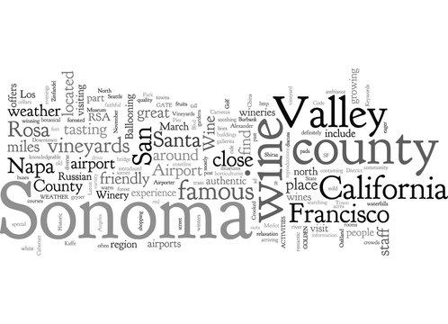 California Wine Sonoma county vineyards