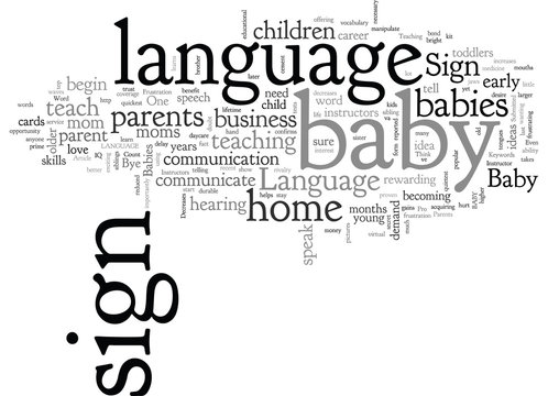 Baby Sign Language Instructors in High Demand
