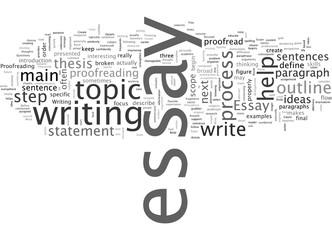 Anyone Can Write an Essay