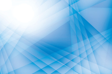Abstract geometric blue and white color background. Vector, illustration.
