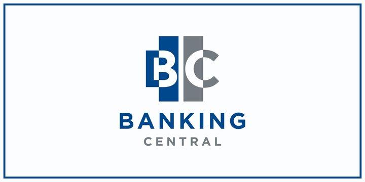 bc negative squared space. banking center logo