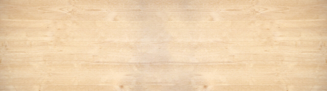 old brown rustic light bright wooden maple texture - wood background panorama banner long