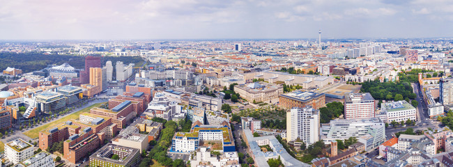 Berlin panorama - great view in the city center
