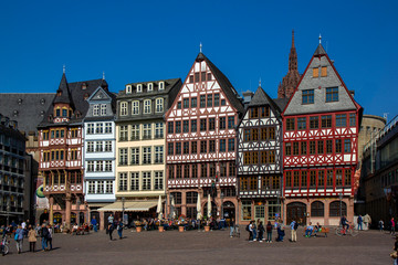 Frankfurt, Römerberg Ostzeile