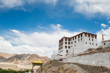 Stakna Monastery or Stakna Gompa is a Buddhist monastery of the Drugpa sect in Stakna, Leh district, Ladakh, northern India.