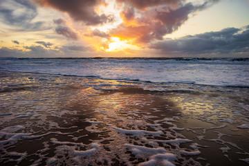 Photo sur Plexiglas La Mer du Nord Nordsee Dänemark