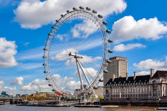 London Eye (Millenium wheel), UK