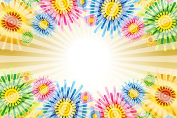 Background wallpaper Vector Illustration design clip art free size happy party image ベクターイラスト背景壁紙,集中線,放射状,クリスマス素材,クリスマスツリー,無料,フリーサイズ,商用