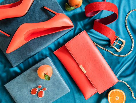 Women's accessories still life