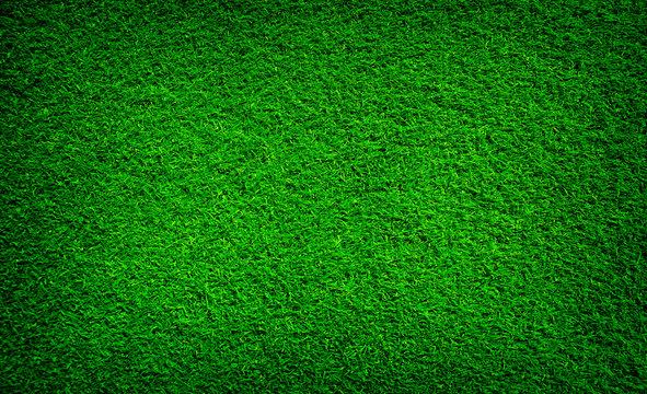 Artificial grass background , close up
