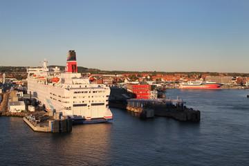 Frederikshavn port inDenmark