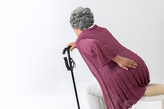 高齢者の女性