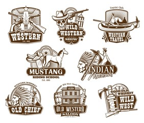 Wild West, American Western icons
