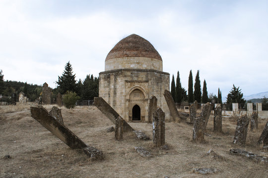 The Shamakhi 7 Dome mausoleum is a historical monument.