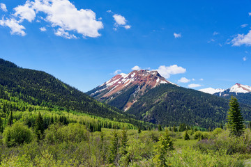 Red Mountain Pass along the San Juan Skyway