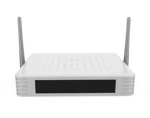 Wireless Modem Router Isolated