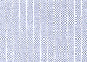 Delicate light blue linen fabric with visible weave texture. White and blue striped fabric. High...