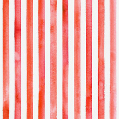Watercolor stripe seamless pattern. Color stripes background