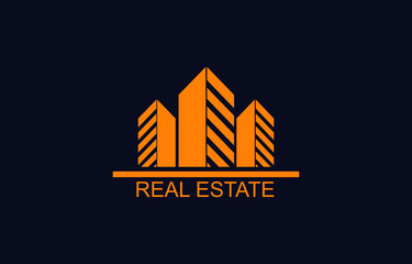 High Quality House, Building and Home Logo Design Vector. Real Estate Logo Icon and Template.