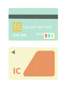 クレジットカード-ICカード-キャッシュレス