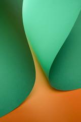 Curved paper design