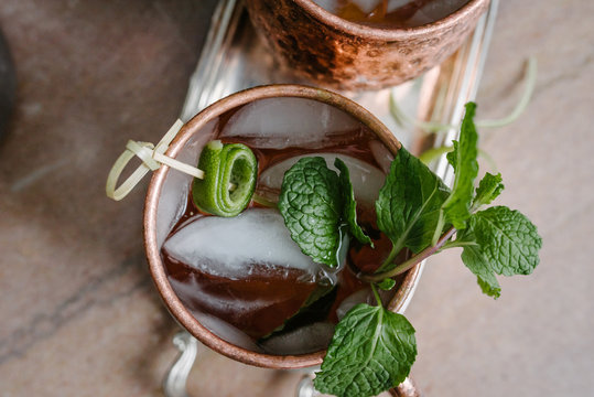 moscow Mule Detail