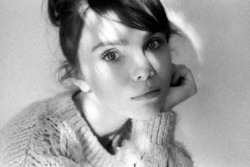Portrait of a adorable woman