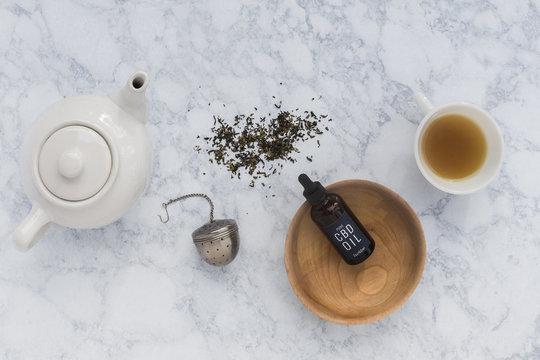 CBD Oil and Tea