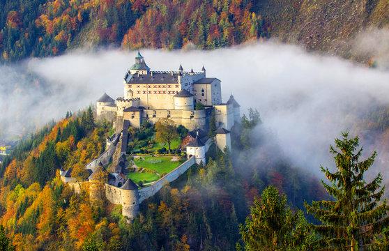 Die Burg Hohenwerfen