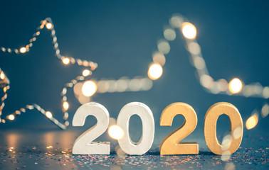2020 Karte Glückwunschkarte