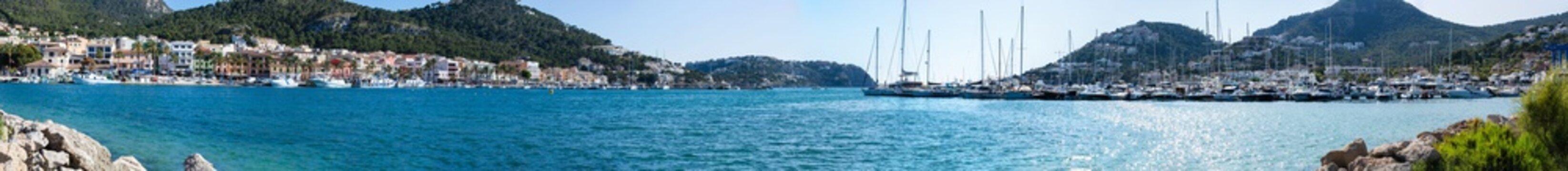Bay and harbor Port de Andratx, Mallorca, Spain