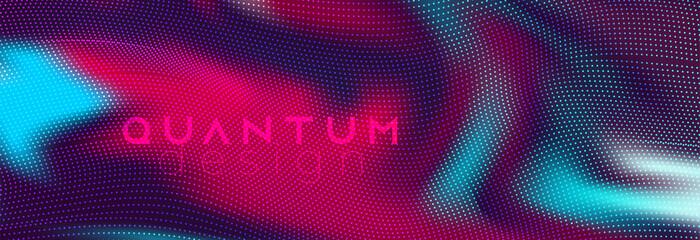 Vibrant futuristic neon silk fabric vector