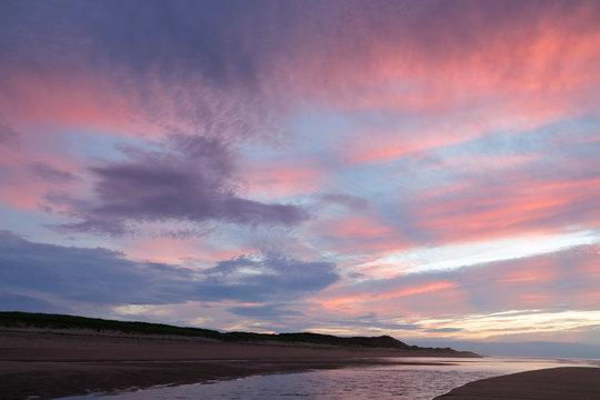Sunset on the Cape Cod National Seashore