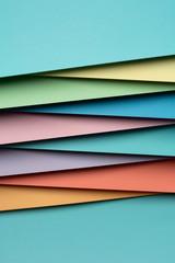 Colorful paper material design
