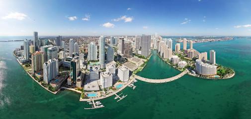 General aerial view of Miami, Florida, USA