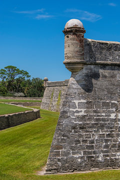 Castillo de San Marcos in St. Augustine, USA