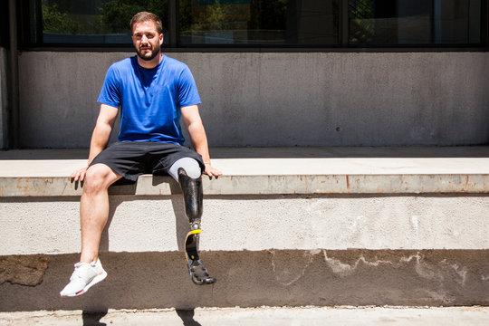 Disabled runner