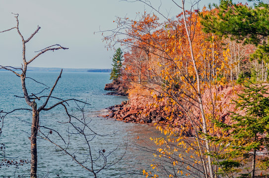 Madeline Island, Wisconsin: Autumn Colors along Lake Superior