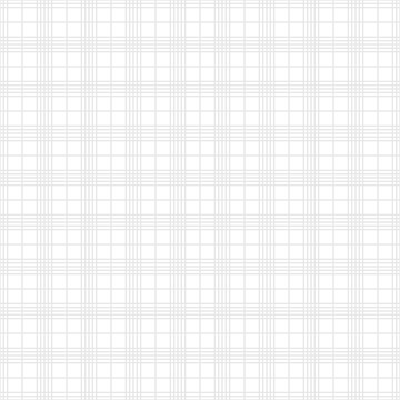 White and gray square seamless pattern, thin line texture background - Vector