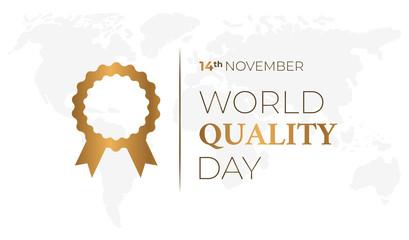 World Quality Day Background Illustration