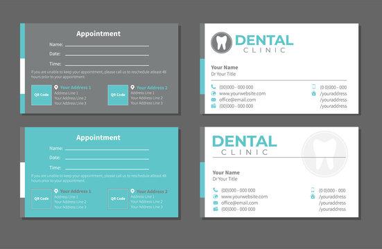 Dental Dentist Business Card
