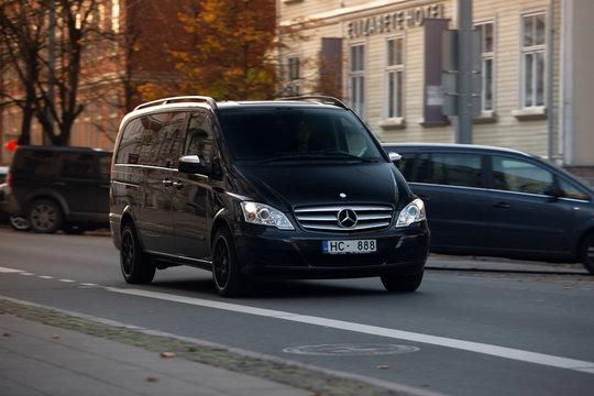 Mercedes-Benz Viano at the city centre