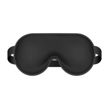 Realistic blindfold. Sleeping mask